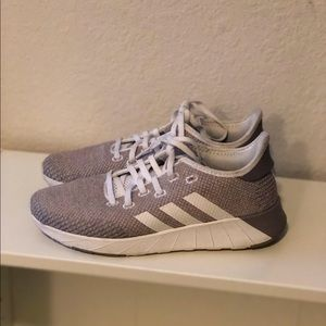 Nude/Grey adidas shoes